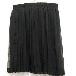 Sz M Concepts by  Career Guild Lined Pleated Skirt